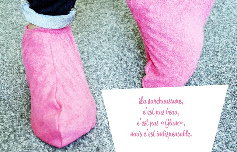 Surchaussures éponge ultra-résistantes spécial pour crèches, maternelles et professionnels de la petite enfance